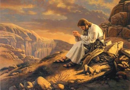 jesus retirou ao deserto