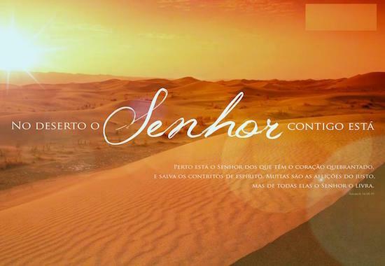 no deserto